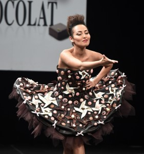desfile salon du chocolat de Paris