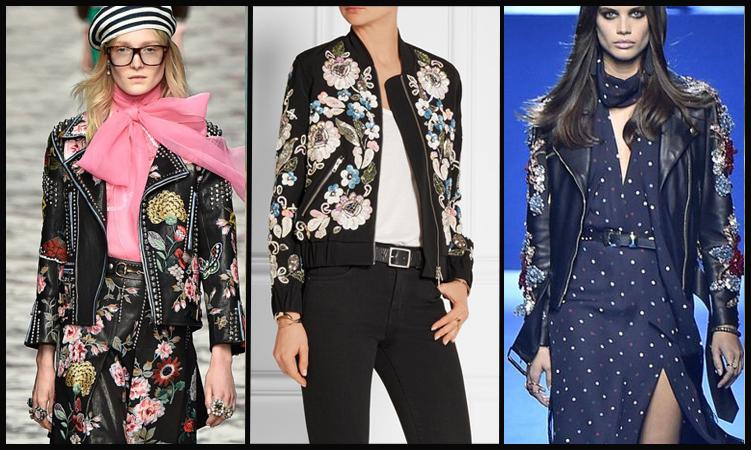 jaquetas com bordado