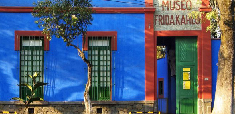 Museu Frida Kahlo.